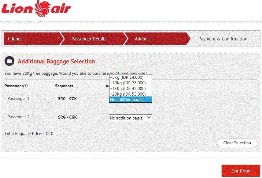 How to Successfully Book Online Via Lion Air Website
