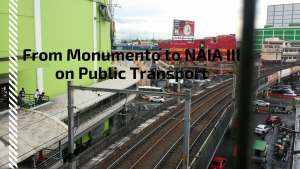 From Monument to Naia 3 on Public Transport