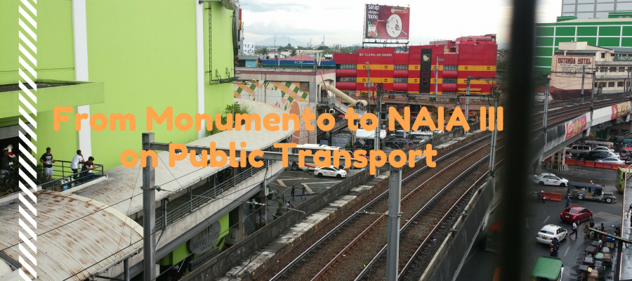 From Monumento to NAIA III on Pulic Transport